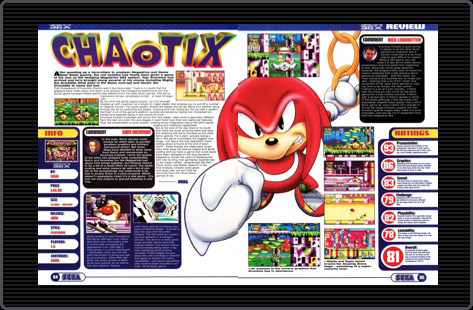 Knuckles Chaotix