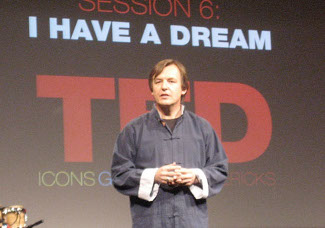 Chris Anderson at a TED conference, 2007