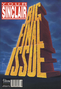 Your Sinclair issue 93 - The Final issue