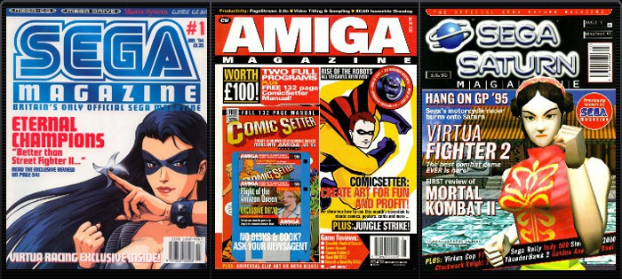 Sega Magazine issue 1