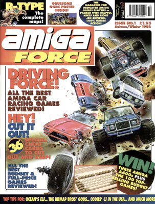 Amiga Force issue 1 cover