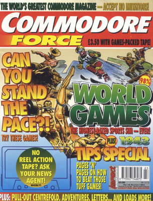 Commodore Force last issue