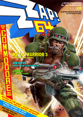 Zzap!64 issue 107, a commerative issue