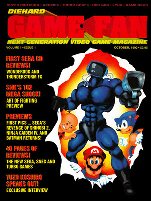 GameFan Vol.1 Issue 1 - october 1992 (USA)