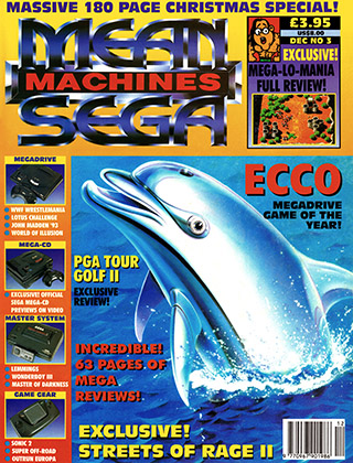 Mean Machines Sega 3 - december 1992 (UK)